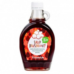 Sirup brusinkový  BIO 250ml